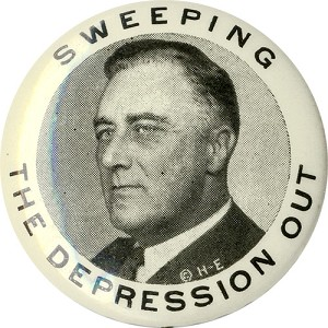 Franklin Roosevelt: Sweeping the Depression Out