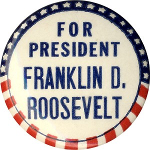 For President Franklin D. Roosevelt