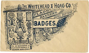 Campaign paraphernalia: Rare Whitehead & Hoag advertising cover