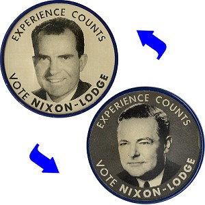 Experience Counts / Vote Nixon-Lodge