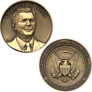 2001 Official Inaugural Medal