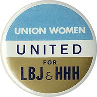 Union Women United for LBJ & HHH