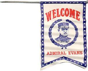 Welcome Admiral Evans
