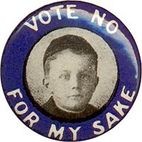 Vote No For My Sake
