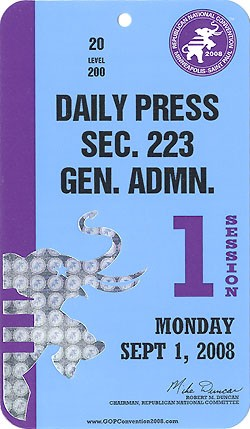 2008 RNC Minneapolis-Saint Paul - Daily Press