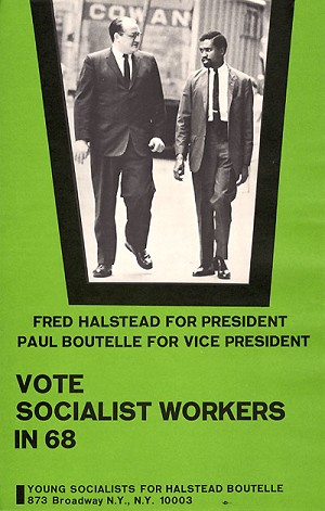 Vote Socialist Workers in 68