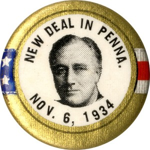 New Deal in Penna. Nov. 6, 1934