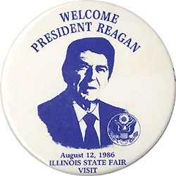 Welcome President Reagan