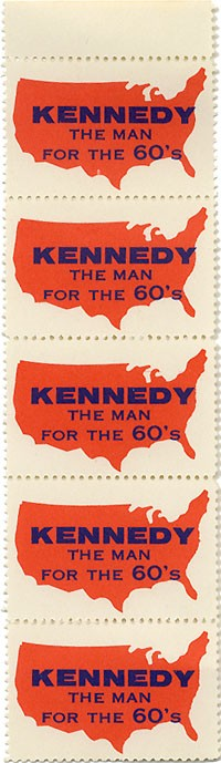 Kennedy The Man for the 60's