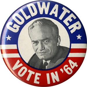 Goldwater Vote in '64