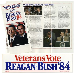 Veterans Vote Reagan-Bush '84