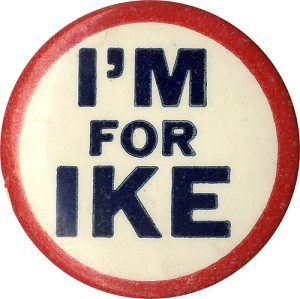 I'm for Ike