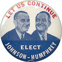 Let Us Continue / Elect Johnson-Humphrey